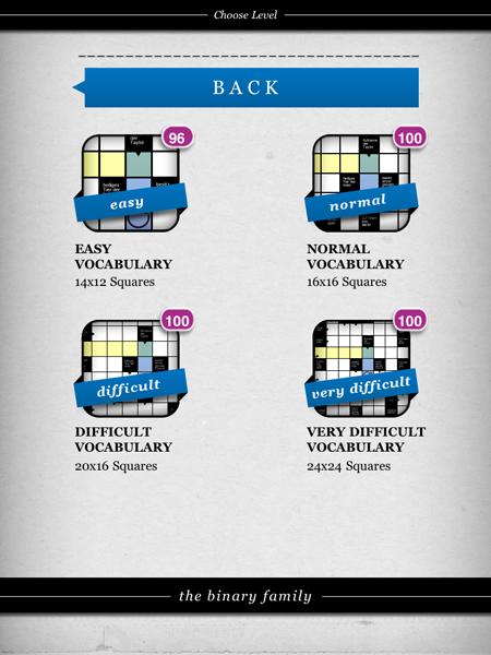 Arrowwords: Crosswords « the binary family